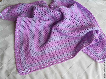 Текстиль, ковры ручной работы. Ярмарка Мастеров - ручная работа. Купить Детский плед
