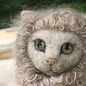 Куклы и игрушки handmade. Livemaster - original item Kitty BETTY. Waldorf toy. Cat Betty.  Waldorf toy. Handmade.