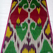 Материалы для творчества handmade. Livemaster - original item Uzbek cotton ikat hand weaving. FM159. Handmade.