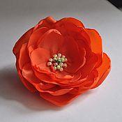Украшения ручной работы. Ярмарка Мастеров - ручная работа брошь-цветок. Handmade.