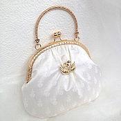 Свадебный салон handmade. Livemaster - original item In stock! Wedding handbag Swan fidelity on the clasp. Handmade.