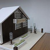 Кукольные домики ручной работы. Ярмарка Мастеров - ручная работа Загородный дом в Английском стиле.. Handmade.