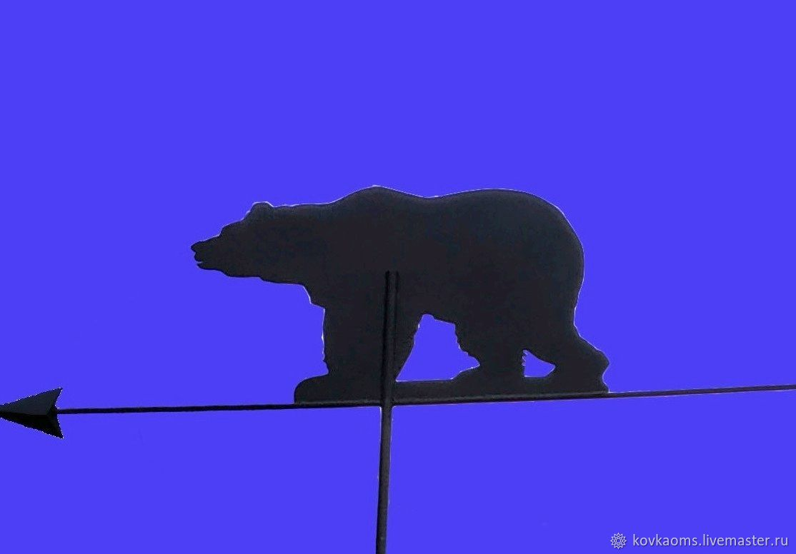 Флюгер Медведь, Флюгер, Москва,  Фото №1