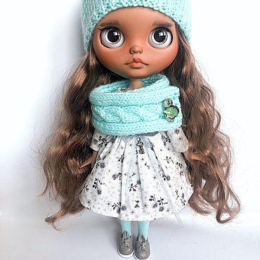 Куклы и игрушки ручной работы. Ярмарка Мастеров - ручная работа Куколка блайз. Handmade.