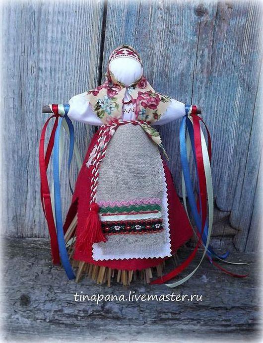 """Народные куклы ручной работы. Ярмарка Мастеров - ручная работа. Купить """"Масленица"""". Handmade. Масленница, лыко"""