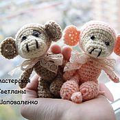 Куклы и игрушки ручной работы. Ярмарка Мастеров - ручная работа Обезьянки малыши. Handmade.