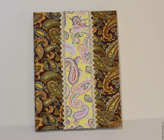 Блокноты ручной работы. Ярмарка Мастеров - ручная работа. Купить Блокнот Пейсли. Handmade. Желтый, подарок на день рождения