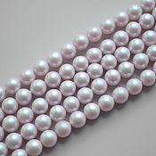 Материалы для творчества handmade. Livemaster - original item Swarovski pearls 6 mm iridescent Dreamy Rose - 10 PCs.. Handmade.
