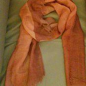 Аксессуары handmade. Livemaster - original item Scarf made of sparse Pavlovo-Posad wool. Handmade.
