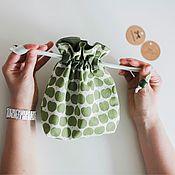Украшения ручной работы. Ярмарка Мастеров - ручная работа Текстильные мешочки для мелочей. Handmade.