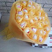 Букет из конфет Весеннее солнышко