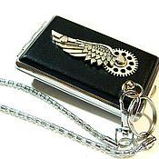 Сувениры и подарки handmade. Livemaster - original item STEAMPUNK CIGARETTE CASE