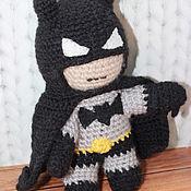 Мягкие игрушки ручной работы. Ярмарка Мастеров - ручная работа Игрушка Бэтмен. Handmade.
