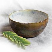 """Посуда ручной работы. Ярмарка Мастеров - ручная работа Пиала """"Мхи"""". Handmade."""