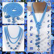 Украшения handmade. Livemaster - original item Lariat bracelets and earrings