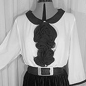 Одежда ручной работы. Ярмарка Мастеров - ручная работа Блуза У-105. Handmade.