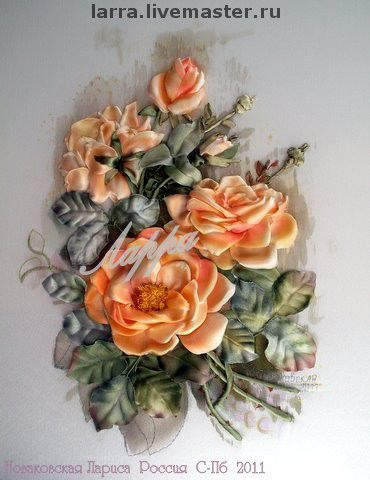 """Картины цветов ручной работы. Ярмарка Мастеров - ручная работа. Купить картина """"Чайная роза"""". Handmade. Эксклюзив, чайная роза"""