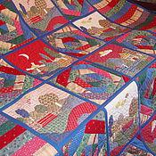 """Для дома и интерьера ручной работы. Ярмарка Мастеров - ручная работа Одеяло-покрывало """"Кантри"""". Handmade."""