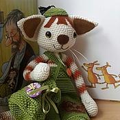 Куклы и игрушки ручной работы. Ярмарка Мастеров - ручная работа Котенок Финдус и Волшебный мешочек. Handmade.