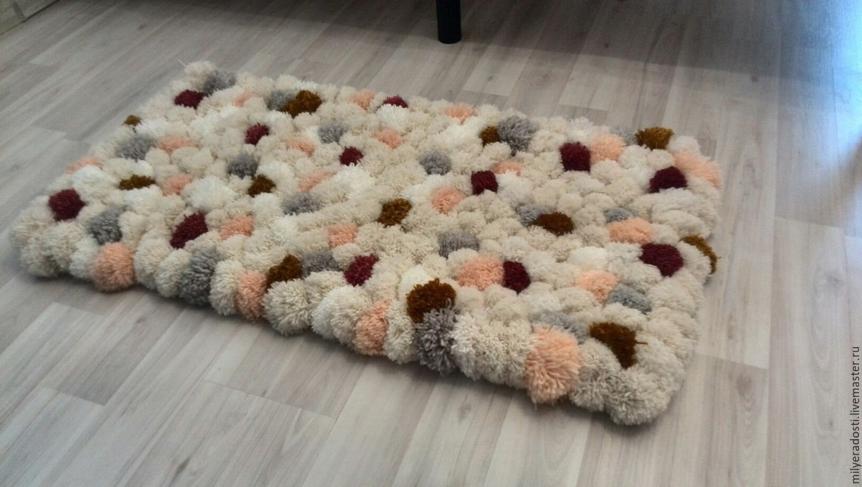 Пряжа на коврик своими руками