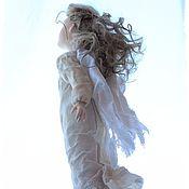 Куклы и игрушки ручной работы. Ярмарка Мастеров - ручная работа Ангел хранитель Авторская кукла  Ангелёнушка: Ветер добрых перемен.... Handmade.