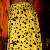 """Одежда ручной работы. Ярмарка Мастеров - ручная работа Юбка длинная шифоновая""""Летний отдых"""". Handmade."""