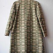 Одежда ручной работы. Ярмарка Мастеров - ручная работа Шерстяное пальто накидка. Handmade.