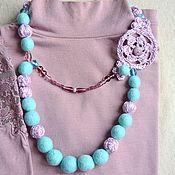 Украшения handmade. Livemaster - original item The necklace felt Antilles. Handmade.