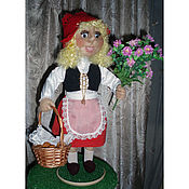 """Куклы и игрушки ручной работы. Ярмарка Мастеров - ручная работа Кукла сувенирная """"Красная шапочка"""". Handmade."""