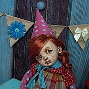 Куклы и игрушки handmade. Livemaster - original item Sonia. Author`s doll, collectible doll, handmade doll. Handmade.
