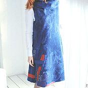 Одежда ручной работы. Ярмарка Мастеров - ручная работа Сарафан валяный (платье). Handmade.