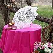 Свадебный салон ручной работы. Ярмарка Мастеров - ручная работа Вязаный зонтик ручной работы с любовью для Вас.. Handmade.