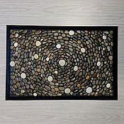 """Ковры ручной работы. Ярмарка Мастеров - ручная работа Коврик из гальки """"Вселенная"""". Handmade."""