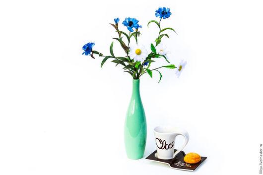 Цветы ручной работы. Ярмарка Мастеров - ручная работа. Купить Цветы из шелка. Букетик полевых цветов. Handmade. Комбинированный