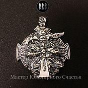 """Украшения handmade. Livemaster - original item Pendant """"Viking"""" silver 925. Handmade."""