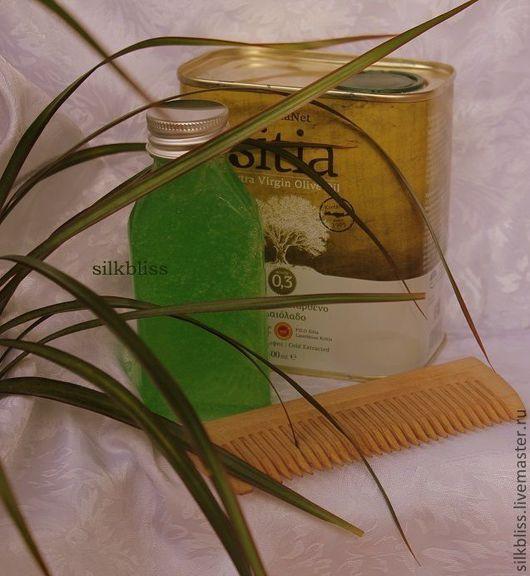 """Шампунь ручной работы. Ярмарка Мастеров - ручная работа. Купить """"Олива, мёд и горные травы"""" растительный шампунь восстанавливающий. Handmade."""