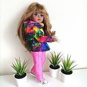 Одежда для кукол ручной работы. Ярмарка Мастеров - ручная работа Куртка и брюки  для Паолочек. Handmade.