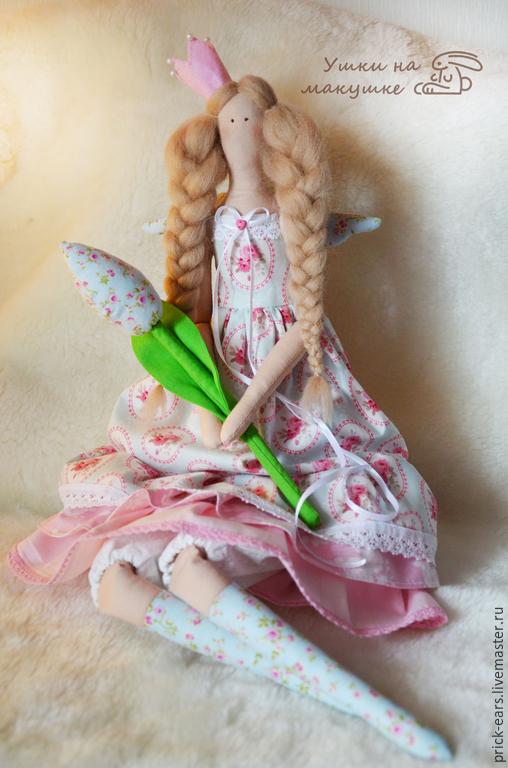 Куклы Тильды ручной работы. Ярмарка Мастеров - ручная работа. Купить Тильда Принцесса. Handmade. Бледно-розовый, принцесса, тильда