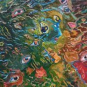 """Картины и панно ручной работы. Ярмарка Мастеров - ручная работа Картина маслом """"Суета сует"""", авторская. картина. абстракция. Handmade."""