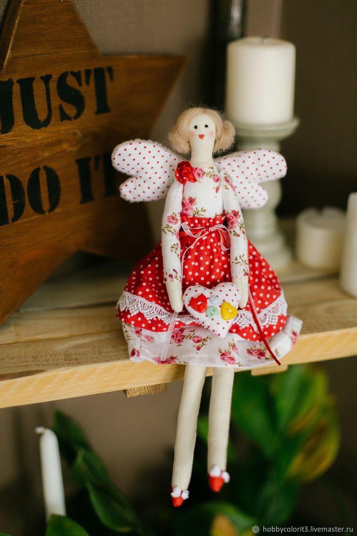 Набор для шитья, Текстильная игрушка «Сандрин» Арт. 011, Тильды, Москва, Фото №1