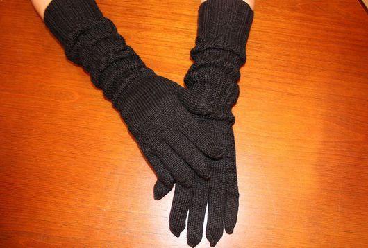 Варежки, митенки, перчатки ручной работы. Ярмарка Мастеров - ручная работа. Купить перчатки женские. Handmade. Перчатки вязаные