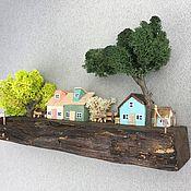 handmade. Livemaster - original item Houses: village. Handmade.