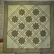 Для дома и интерьера ручной работы. Ярмарка Мастеров - ручная работа Одеяло Калейдоскоп. Handmade.