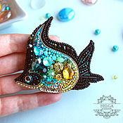 Украшения handmade. Livemaster - original item Brooch-pin: Exotic fish. Handmade.