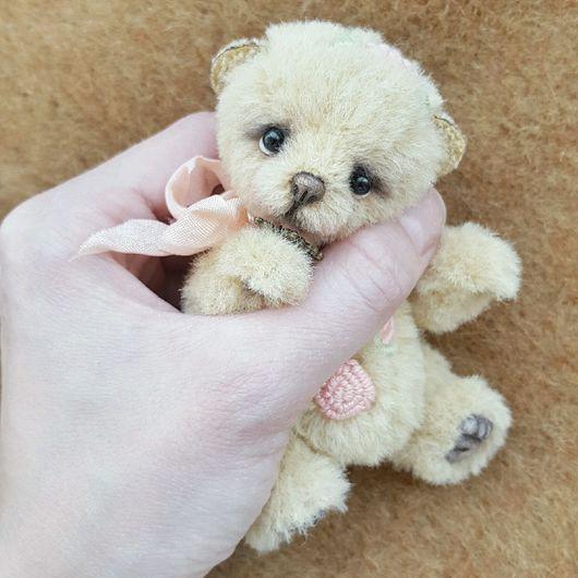 Мишки Тедди ручной работы. Ярмарка Мастеров - ручная работа. Купить Фло. Handmade. Тедди, альпака для тедди