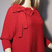 """Одежда ручной работы. Ярмарка Мастеров - ручная работа Вязаный пуловер """"Вивьен"""". Handmade."""