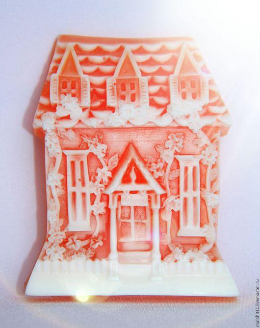 Мыло ручной работы. Ярмарка Мастеров - ручная работа. Купить Заснеженый замок. Handmade. Новогодний подарок, новый год 2016