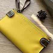 Сумки и аксессуары handmade. Livemaster - original item Wallet clutch genuine leather. Handmade.
