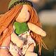 Дианочка 17 см. Вальдорфская кукла.Julia Solarrain (SolarDolls) Ярмарка Мастеров