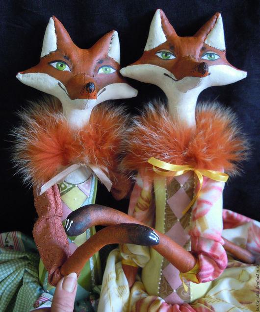 Ароматизированные куклы ручной работы. Ярмарка Мастеров - ручная работа. Купить Лисовета Патрикеевна кукла лиса. Handmade. Текстильная игрушка